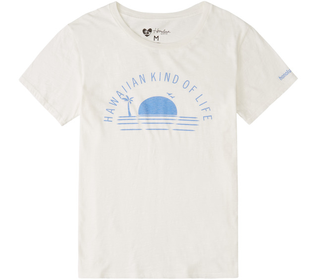 HONOLUA SURF - TANKS HAWAIIAN KIND OF LIFE SHORT SLEEVE TEE