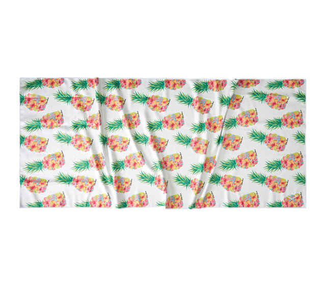 HONOLUA SURF ACCESSORIES WATERCOLOR PINEAPPLE TOWEL