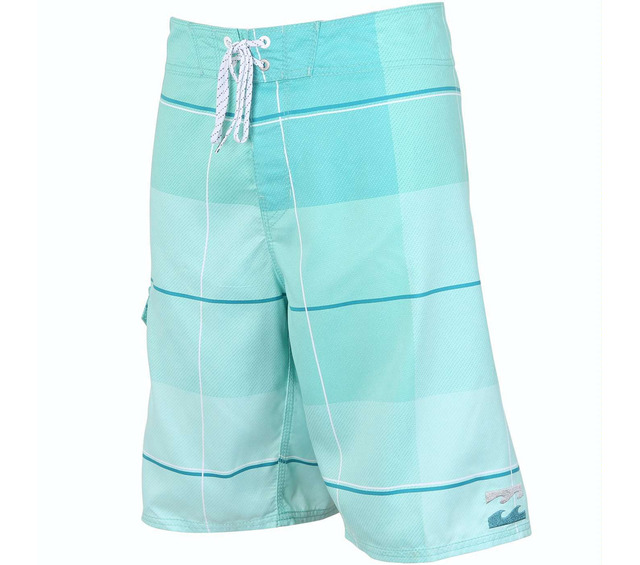 BILLABONG ALL DAY PLAID X MARINE BOARDSHORT FRONT
