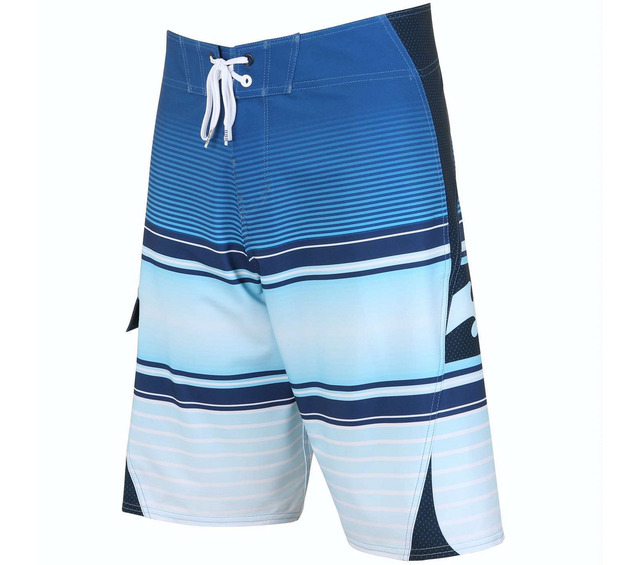 OCCY BLENDER X BOARDSHORTS BRIGHT BLUE FRONT