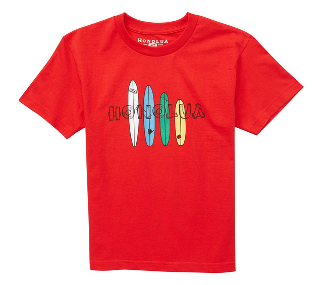 HONOLUA SURF KIDS BOY'S BOARDHOUSE SS TEE