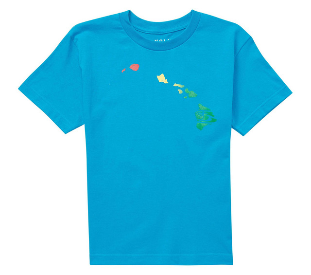 HONOLUA HAWAIIAN (PRODUCT URL BUG) BOY'S LINKY RASTA SS TEE
