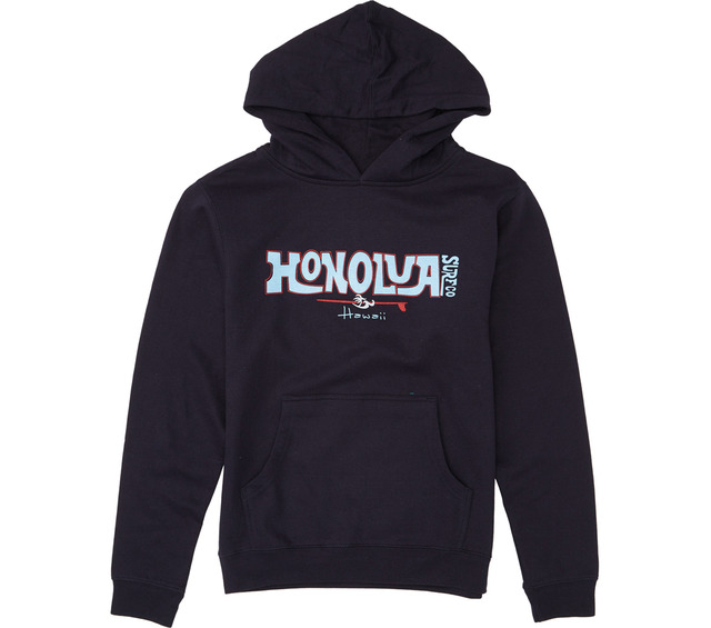 HONOLUA SURF KIDS BOY'S RIDER HOODED FLEECE