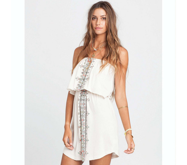 OCEAN BABE DRESS WHITE CAP