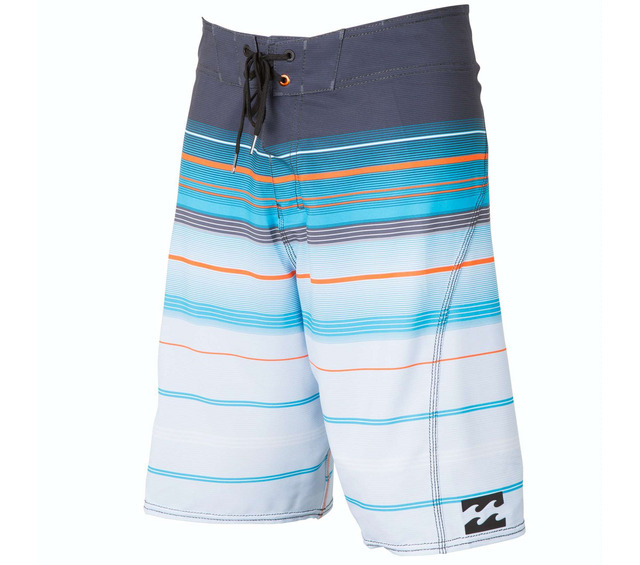 BILLABONG ALL DAY STRIPE X CHARCOAL BOARDSHORTS FRONT