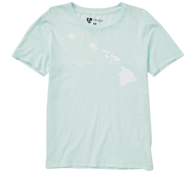 HONOLUA HAWAIIAN (PRODUCT URL BUG) ISLAND BREEZE SS TEE