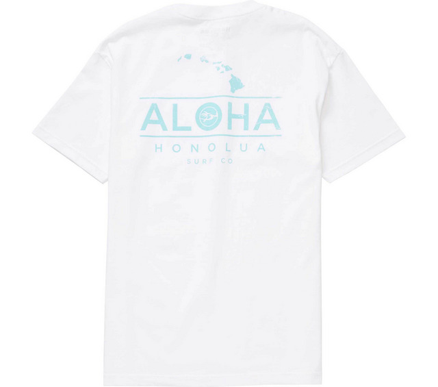 HONOLUA HONOLUA PRODUCTS ALOHA CHAIN SS TEE