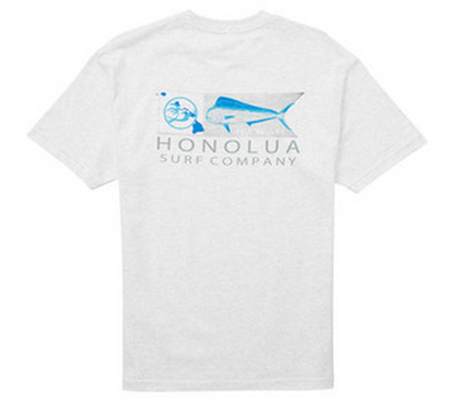 HONOLUA SURF CLOTHING MAHI MAHI SHORT SLEEVE TEE