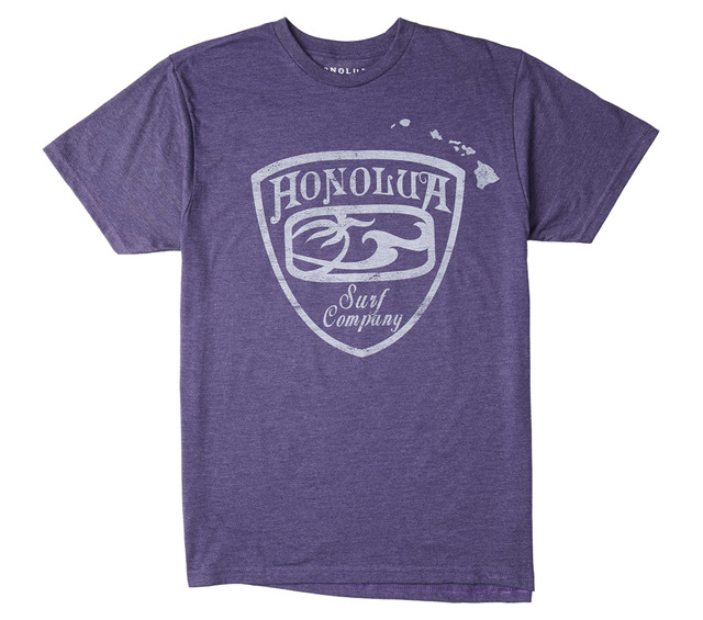 HONOLUA SURF CLOTHING CRESTED SHORT SLEEVE TEE
