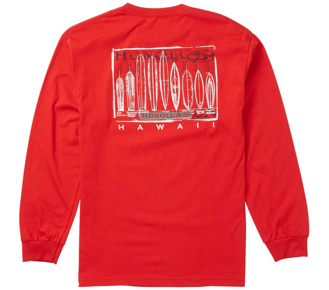HONOLUA SURF CLOTHING EVOLUTION LONG SLEEVE TEE