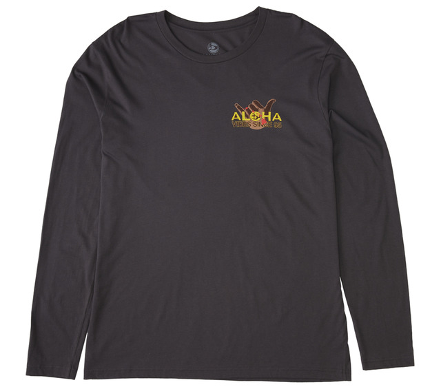 HONOLUA SURF CLOTHING SHAKA WINGS LONG SLEEVE TEE