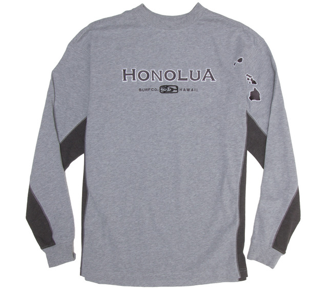HONOLUA HONOLUA PRODUCTS SIDESEAMS LONG SLEEVE TEE