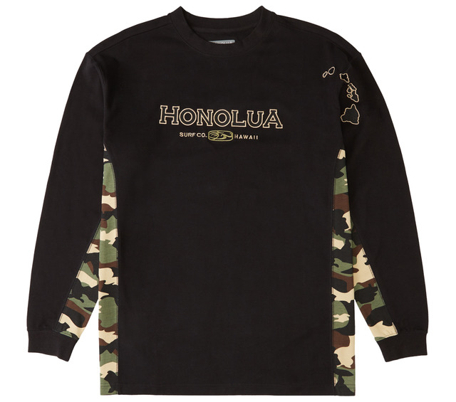 HONOLUA SURF CLOTHING SIDESEAMS LONG SLEEVE