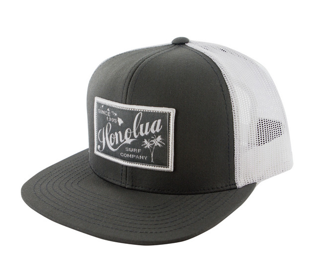 HONOLUA SURF - HATS RETRO RECTANGLE TRUCKER HAT