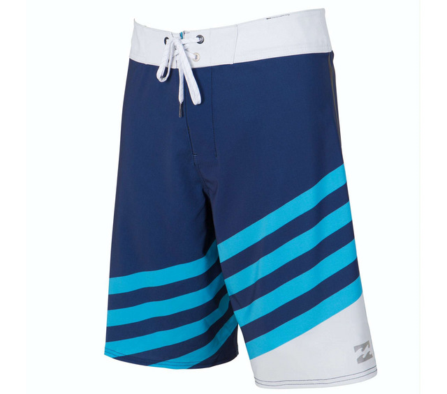 BILLABONG SLICE X PERFORMANCE BOARDSHORT INDIGO BACK VIEW