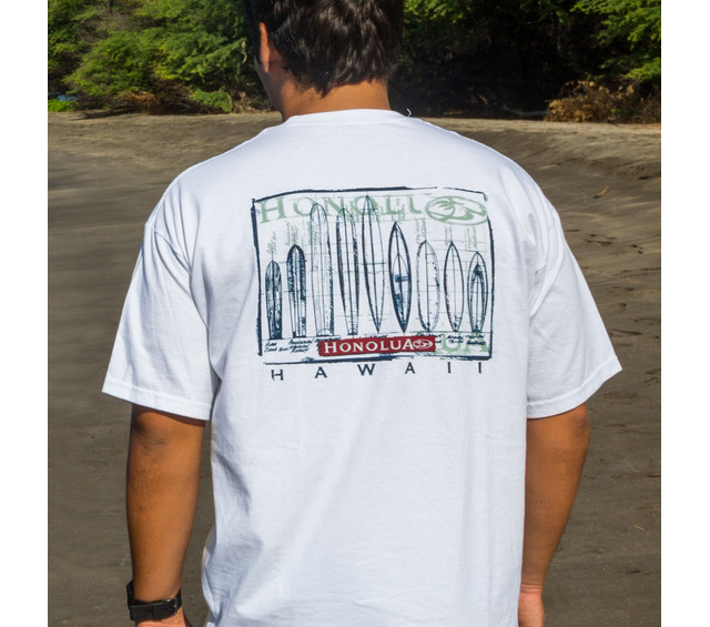 HONOLUA SURF CLOTHING EVOLUTION SHORT SLEEVE TEE