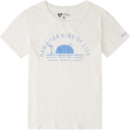 HONOLUA SURF - TANKS HAWAIIAN KIND OF LIFE TEE SALT CRYSTAL