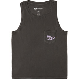 HONOLUA SURF - TEES PALMS SET TANK OFF BLACK