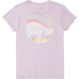 HONOLUA SURF WOMENS-HAWAIIAN-TEES GROOVY TEE LILAC