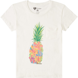 HONOLUA SURF - TEES WATERCOLOR TEE SALT CRYSTAL