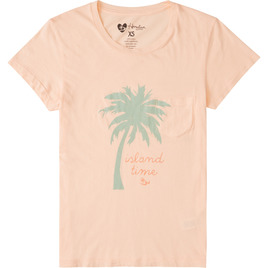 HONOLUA SURF - TEES ISLAND TIME TEE PEACHY