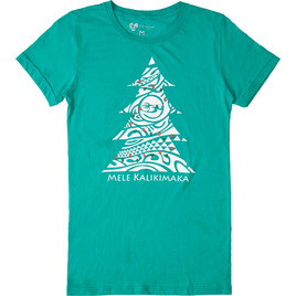 HONOLUA SURF - TEES WOMEN'S KALIKIMAKA TEE GREEN