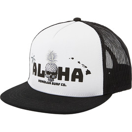 HONOLUA SURF - HATS SKULL ISLAND TRUCKER HAT