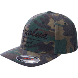 HONOLUA SURF - HATS ESTABLISHED CAMO FLEXFIT HAT