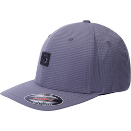 HONOLUA SURF MENS-HAWAIIAN-HATS ASSET FLEXFIT HAT GREY