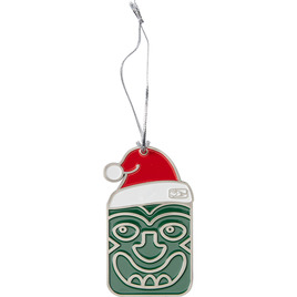 HONOLUA SURF MELE-KALIKIMAKA-COLLECTION-GIFT-GUIDE TIKI KALIKI ORNAMENT GREEN