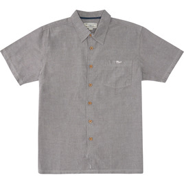 HONOLUA SURF - SHIRTS & POLOS MAALAHI SHORT SLEEVE BUTTON DOWN GREY