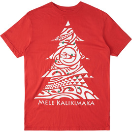 HONOLUA SURF CLOTHING MEN'S KALIKIMAKA TEE RED