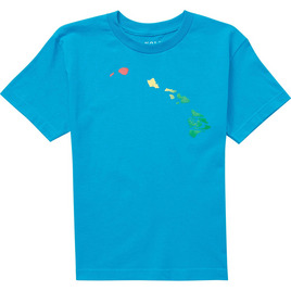 HONOLUA SURF KIDS BOY'S LINKY RASTA SS TEE