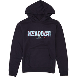 HONOLUA SURF KIDS BOY'S RIDER HOODED FLEECE NAVY