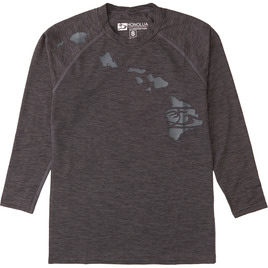 HONOLUA SURF KIDS HEATHERED LINK LONG SLEEVE