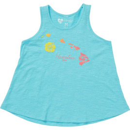 HONOLUA HAWAIIAN LINK TANK SEAFOAM