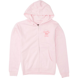 HONOLUA FLEECE & HOODIES HULA LEI HOODED ZIP FLEECE LIGHT PINK