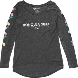 HONOLUA - TEES PINEAPPLE PARTY TEE BLACK