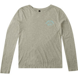 HONOLUA SURF - TEES HI-ALOHA VIBES LS HEATHER GREY