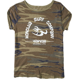 HONOLUA SURF - TEES SURF ESTABLISHED TEE CAMOFLAUGE
