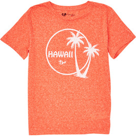 HONOLUA SURF - TEES PALM OUT SS TEE RAD RED