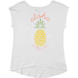 HONOLUA SURF - TEES PINA COLADA SS TEE WHITE