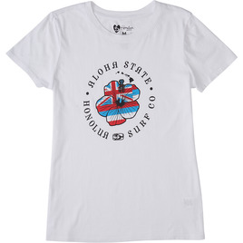 HONOLUA SURF - TEES FLAGGER WHITE