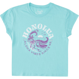 HONOLUA SURF - TEES ANNIVERSARY SHORT SLEEVE TEE CLOUD BLUE