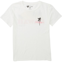 HONOLUA - TEES SUNSETTER TEE SALT CRYSTAL