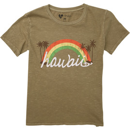 HONOLUA SURF - TEES UNDER THE RAINBOW TEE SAGE