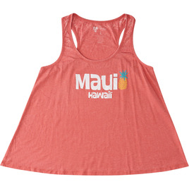 HONOLUA SURF - TANKS MAUI RACERBACK HEATHERED TANK TOP