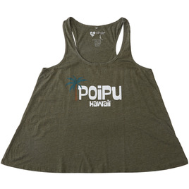 HONOLUA SURF - TANKS POIPU RACERBACK HEATHERED TANK TOP