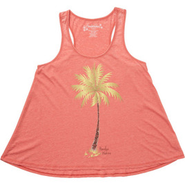 HONOLUA HAWAIIAN (PRODUCT URL BUG) PALMTASTIC TANK DARK CORAL