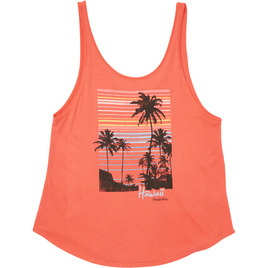 HONOLUA SURF - TANKS & TOPS DUSK TANK RAD RED